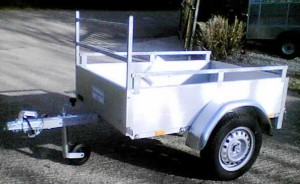 T81 Anssems GT500 - Medium domestic or light business trailer