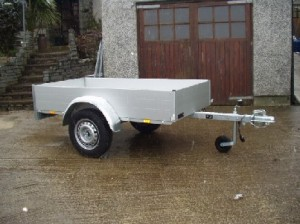 T75 Anssems GT500 light weight trailer