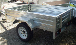 T78 Warrior 6x4 Galvanised Trailer