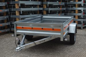 T52 fully galvanised light-weight trailer