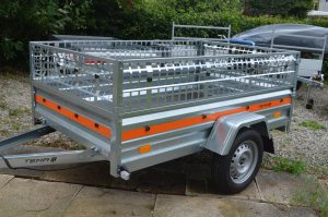 T53 fully galvanised light-weight trailer