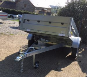 T20 MULTI PURPOSE TIPPING TRAILER - 5ft 8in x 4ft 1in