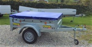 T21 MULTI PURPOSE TIPPING TRAILER - 5ft 8in x 4ft 1in covered
