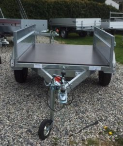 T21 MULTI PURPOSE TIPPING TRAILER - 5ft 8in x 4ft 1in
