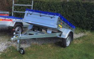 T21 multi purpose tipping trailer