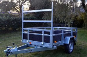 T58 Galvanised and Wood Trailer