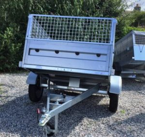 T20 - cage tipping trailer