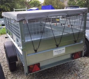 T20 - cage trailer with cover