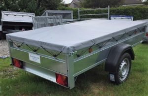 T23 TRADESMAN TRAILER 7ft 6ins x 4ft 3ins cover