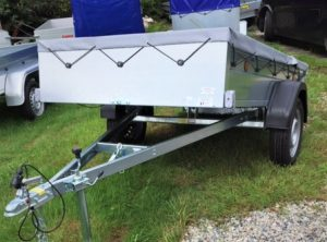 T23 TRADESMAN TRAILER 7ft 6ins x 4ft 3ins tipping