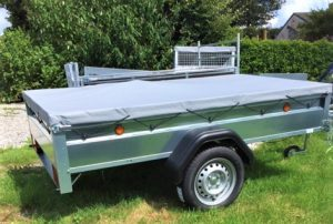T23 TRADESMAN TRAILER 7ft 6ins x 4ft 3ins covered