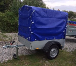 T67C Covered Trailer
